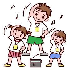 ラジオ体操①
